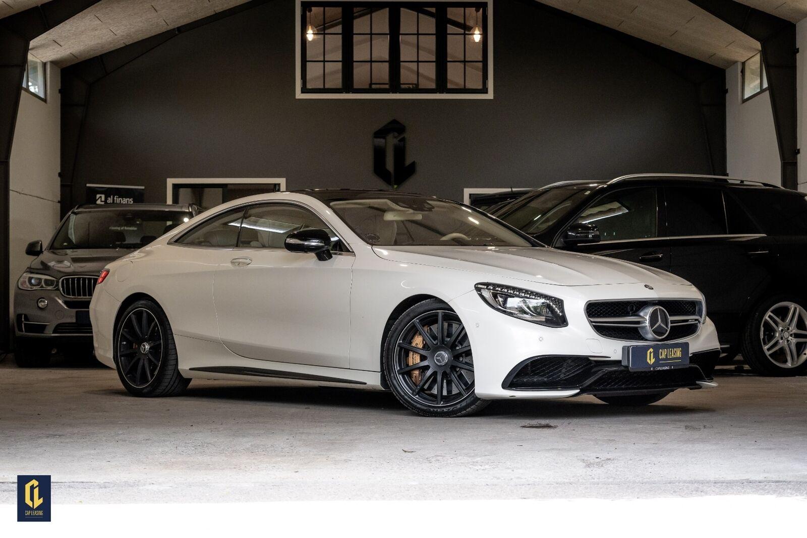 Mercedes S63 5,5 AMG Coupé aut. 4Matic 2d