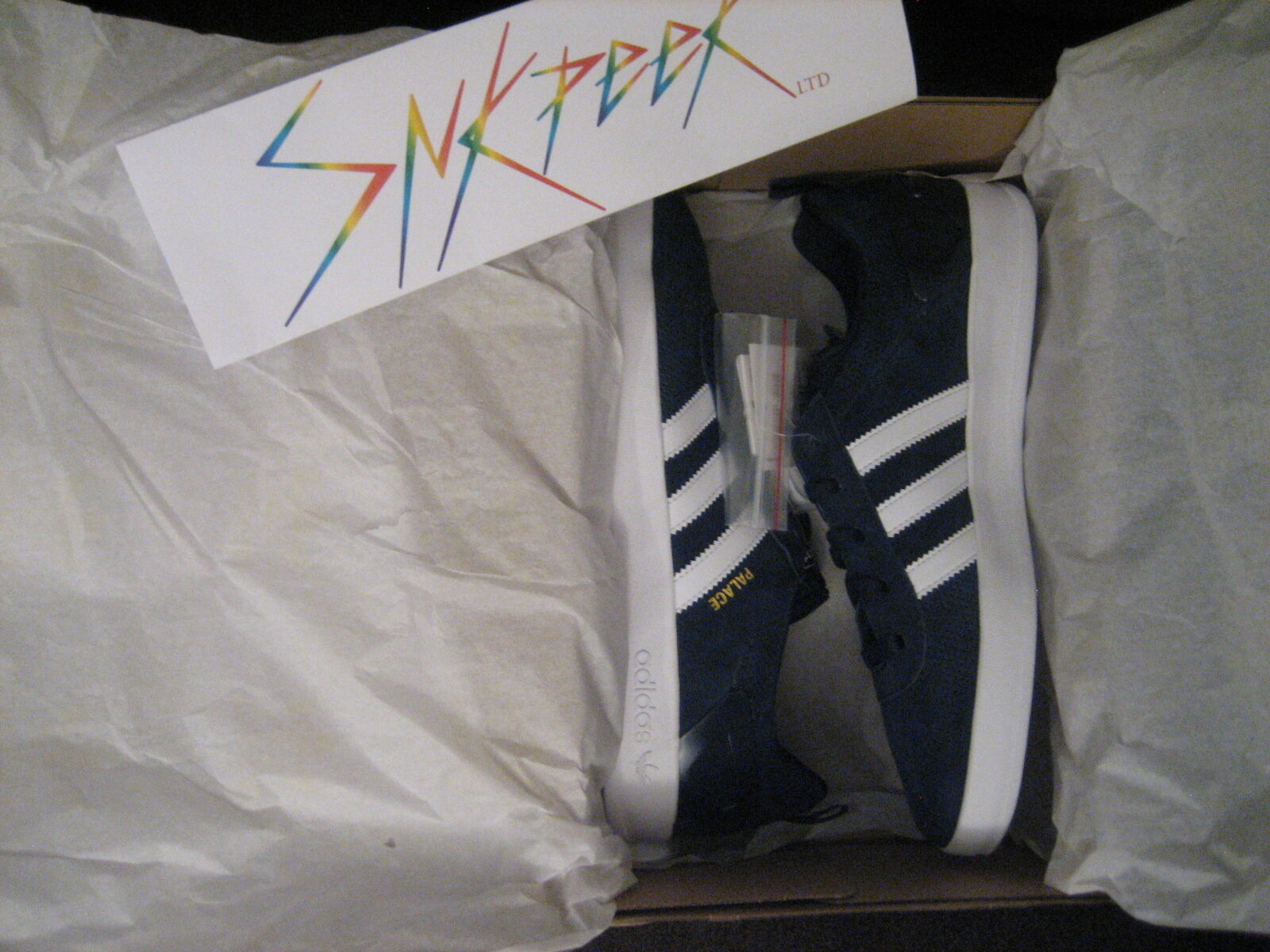 Adidas x Palace Pro Night Indigo / White AQ5147 US Size: 9.5 Supreme