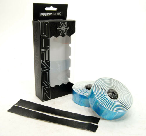Supacaz Prizmatik Blue Road Bike Silicone Gel Handlebar Tape