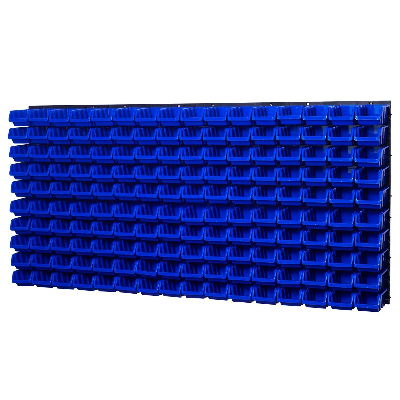 Cajas de Pila Estante Parosso Visibles Cubos Lagersystem 160