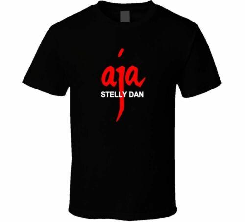 BAND ROCK STEELY DAN T SHIRT PRESS shirt black Cotton Tshirt Short Sleeve Tops