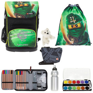 7set Lego School Backpack Sac à dos Cartable 20089 Maxi Ninjago Lloyd Efk