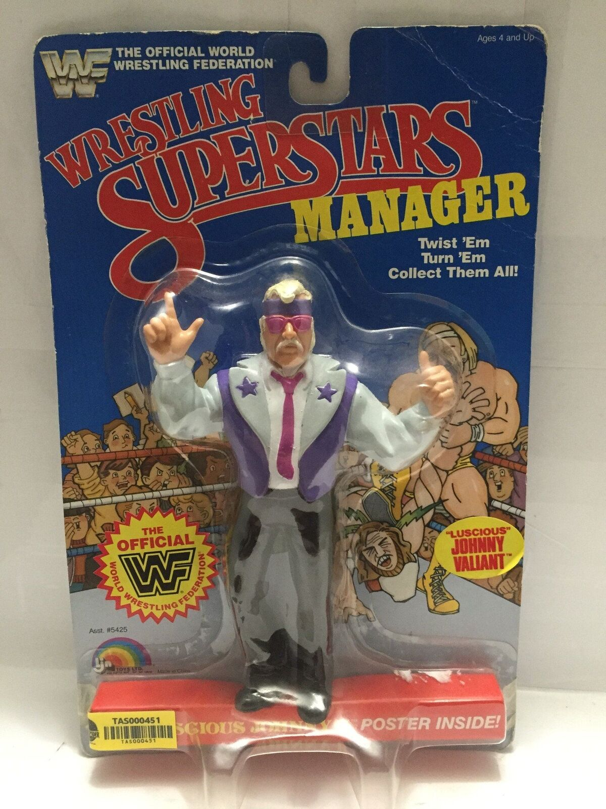 - lucha de superestrellas Manager 2018 LJN Luscious Johnny V.