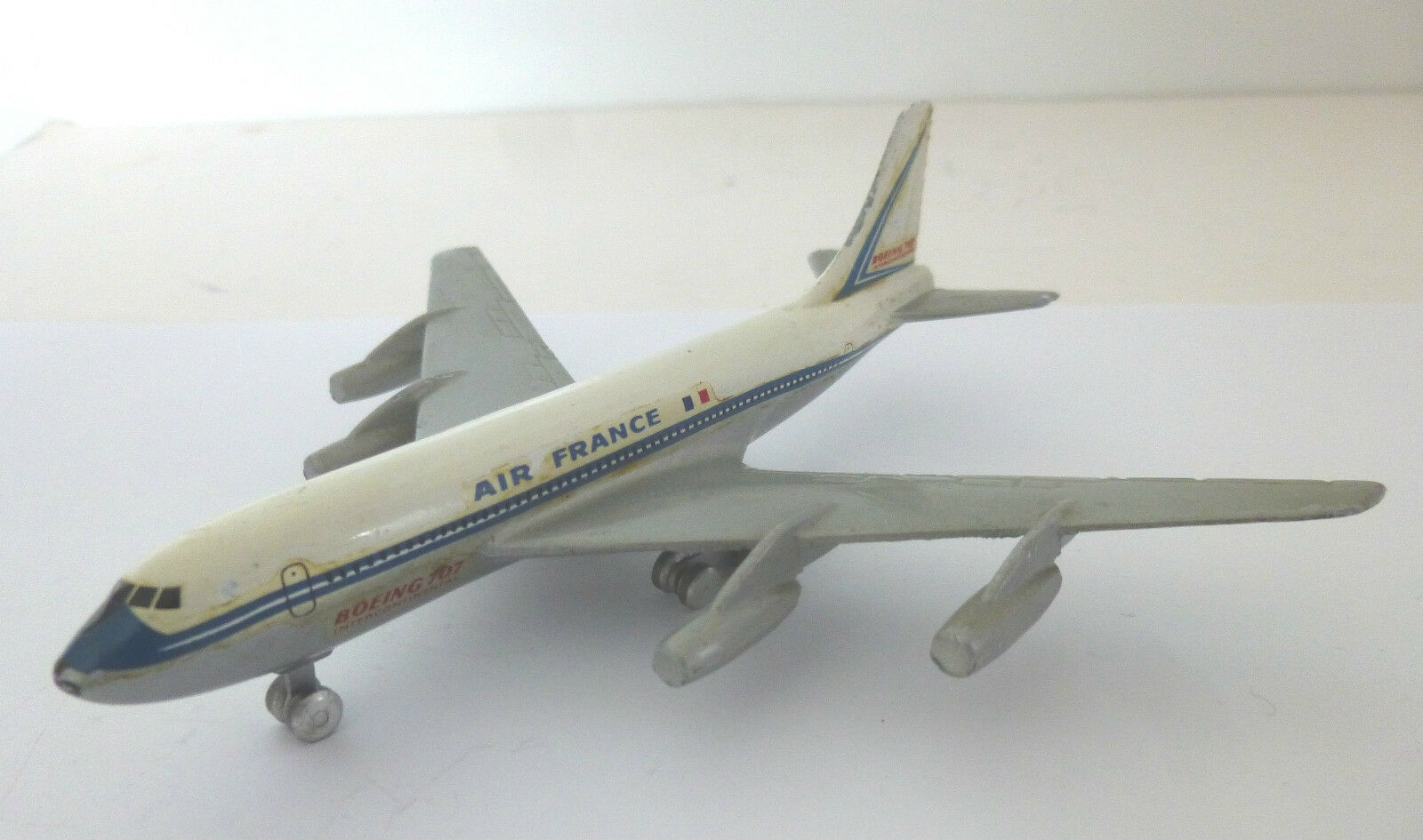 CIJ Diecast Air France Boeing 707 Aircraft Model  French Diecast Aircraft Model