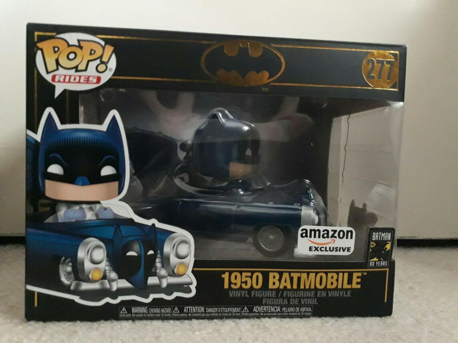 Funko-POP Rides 1950 Batmobile Brand New in Box Batman 80th