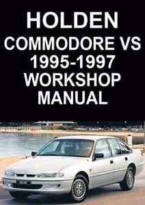 holden commodore vs series workshop manual ebay rh ebay com au Holden Statesman 1970 Holden Statesman 1970
