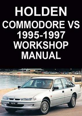 HOLDEN COMMODORE VS Series WORKSHOP MANUAL