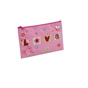 25 x Job Lot Girls Pink Love Dance Gift School Pencil Cases PC-1248 By Katz