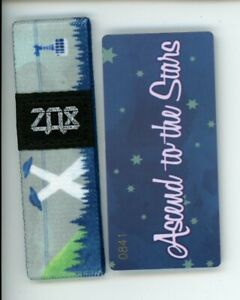 ZOX-Silver-Strap-ASCEND-TO-THE-STARS-Wristband-with-Card-Reversible
