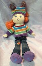 """Childrens Place Pals Doll Plush 13"""" Stuffed Toy Redhead Winter"""