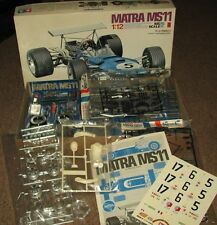 New Vintage Tamiya Matra MS11 MOTORIZED Big Scale 1/12 COMPLETE CAR MODEL KIT #5