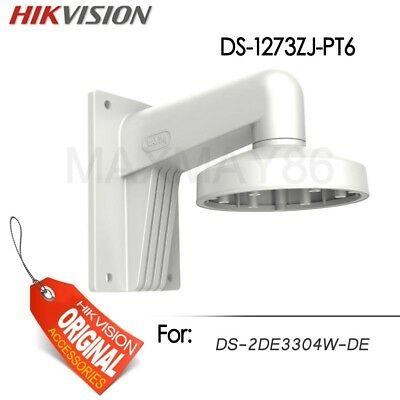 Hikvision DS-1273ZJ-PT6 Aluminum Wall Mounting Bracket Outdoor For 2DE3304W-DE