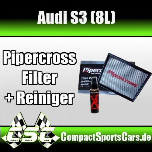 AUDI S3 |1.8 Turbo 8L Pipercross Sportluftfilter//Tauschfilter ÖLFREI