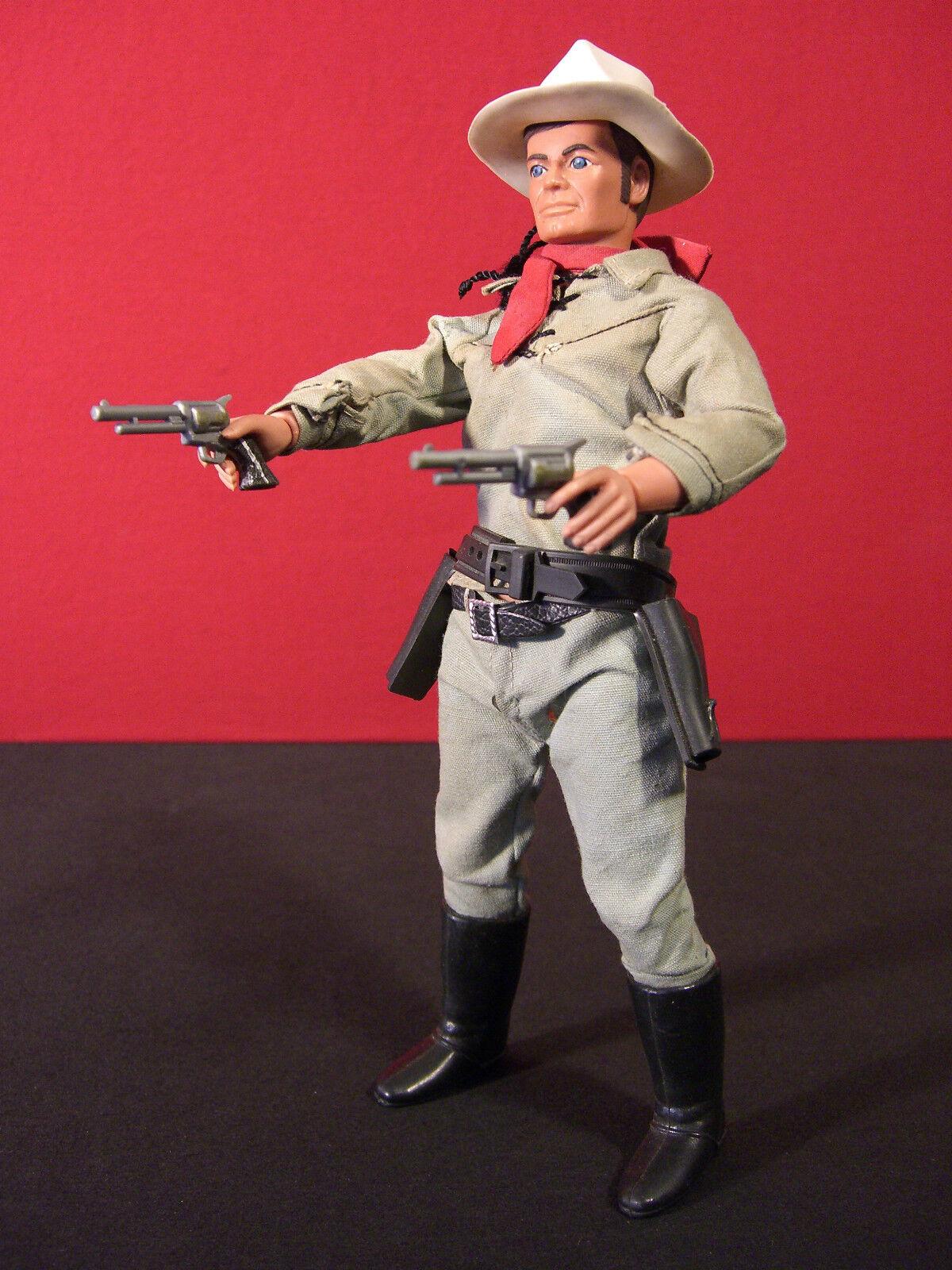 Lone Ranger Vintage 1973 Loose Gabriel Action Figure