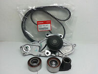 Honda/acura V6 Genuine Timing Belt & Water Pump Kit + Tensioners