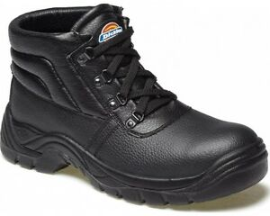 Dickies-Mens-Redland-Super-Safety-Work-Boots-Size-UK-4-14-Steel-Toe-Cap-FA23330