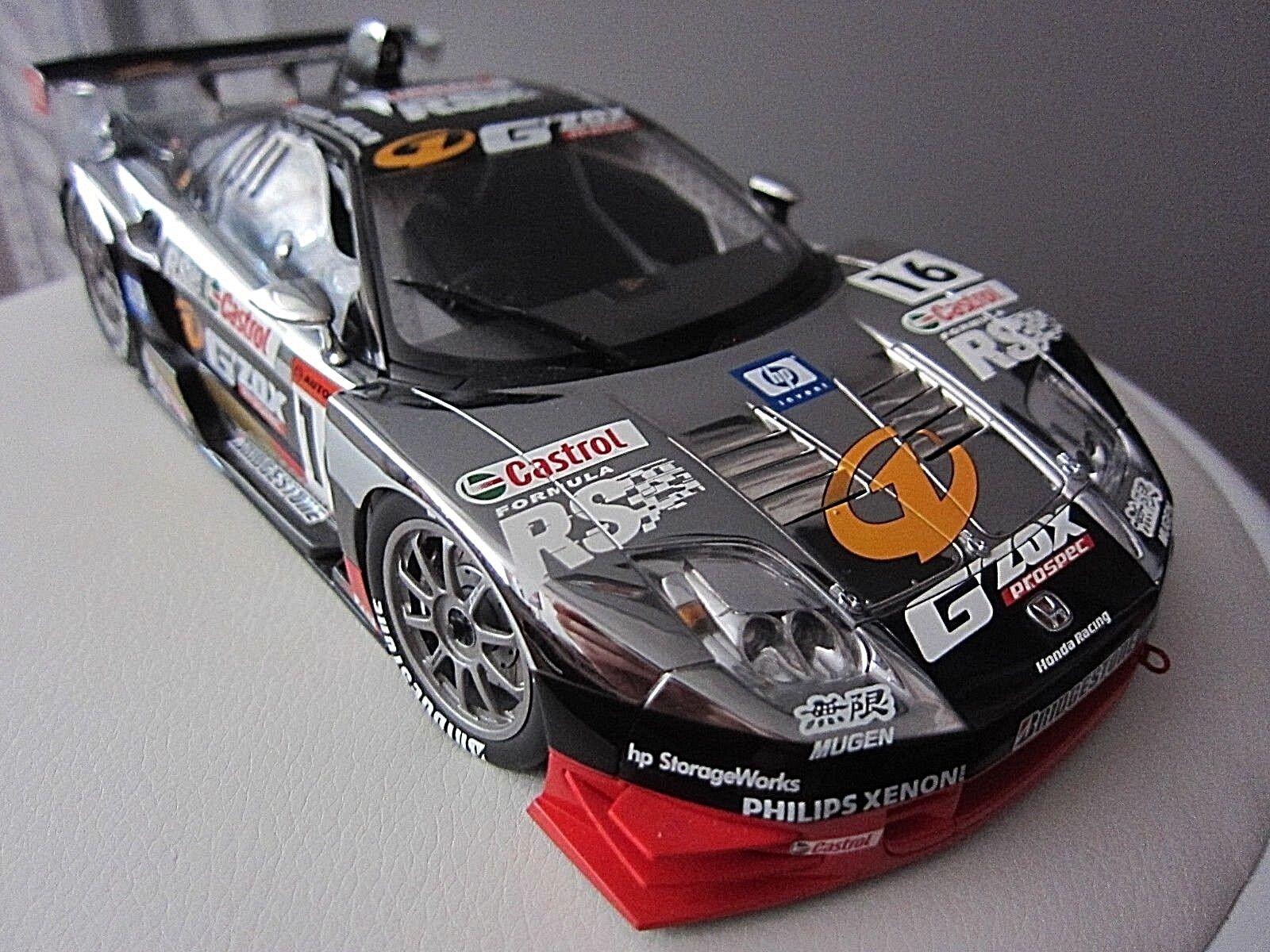 Modellllauto 1 18 Sportwagen JGTC G  ZOX Mugen NSX &16 2003 Cast Honda v.Auto Art