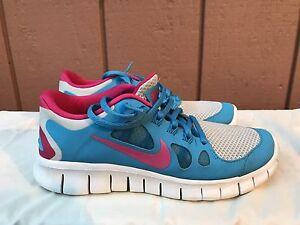 118a0fdf762a EUC Kids Nike Free 5.0 Run (580565-600) Running Cross Training shoes ...