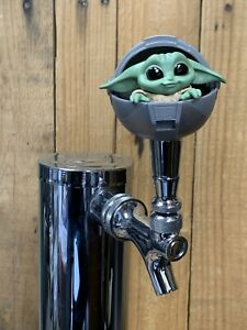 BABY-Yoda-Tap-Handle-for-Beer-Keg-mini-pull-knob-The-Child-Mandalorian-Sphere