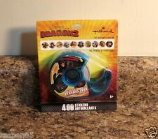 How To Train Your Dragon 2 Sticker Roll Set 400 In Dispenser NEW