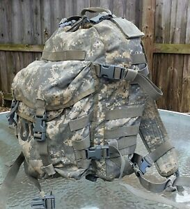 US ARMY ACU ASSAULT PACK 3 DAY MOLLE II BACKPACK/ BUG OUT BAG w/ Stiffener