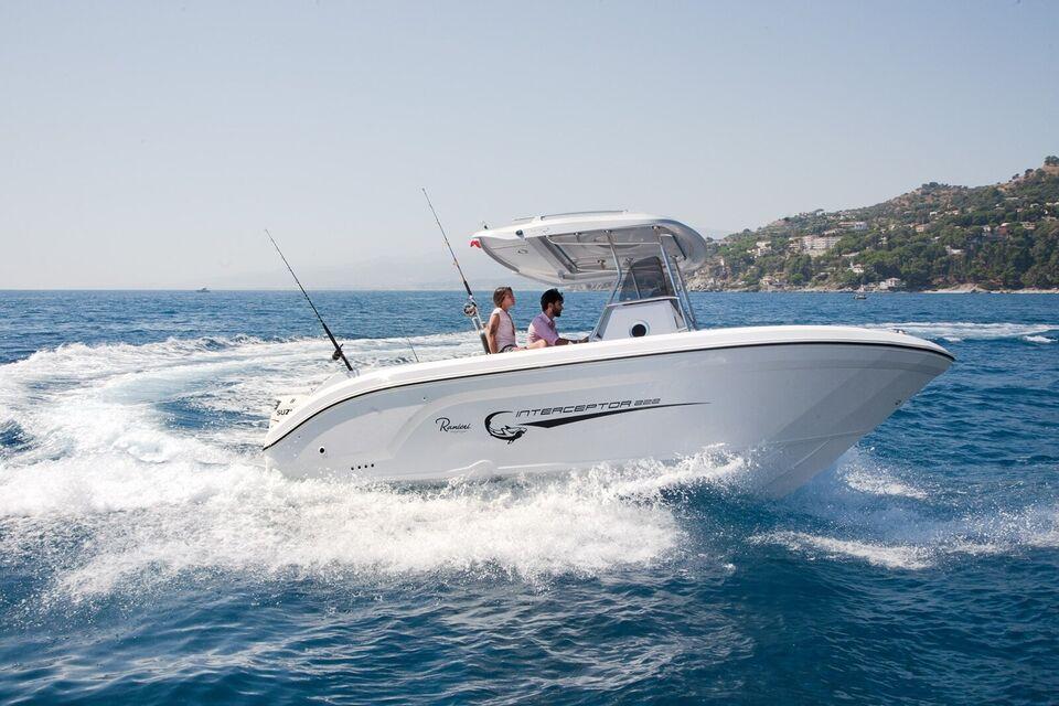 Ranieri Interceptor 222, Fiskerbåd, årg. 2019