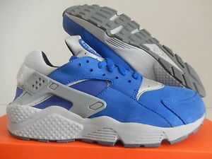 buy popular f459a 363df Image is loading NIKE-AIR-HUARACHE-RUN-PRM-PREMIUM-ROYAL-BLUE-