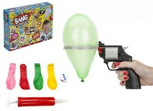 Get Set Bang Roulette Water Balloon Gun Pistol Christmas Kids Game