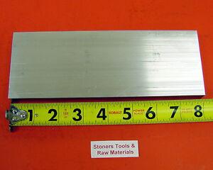 "2 Pieces 1-1//2/"" X 6/"" ALUMINUM 6061 FLAT BAR 8/"" long 1.5/"" T6511 Solid Mill Stock"