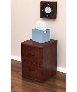 Image Is Loading Legal Size File Cabinet Vertical 2 Drawer Wood
