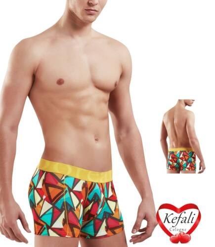 Doreanse Hipster Pants Herren Boxershorts bedruckt Unterhose Retroshorts M-XL