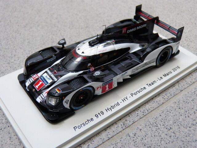 Porsche  919 Hybrid HY Team LeMans 24h 2016  1 Webber Spark Model voiture 1 43  réductions incroyables