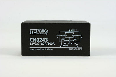 200 Amps Winch Motor Reversing Solenoid Relay Switch DC 12 Volt Contactor