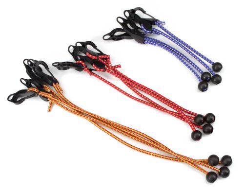 12-pc Adjustable Ball Anchor//Hook Tarp Bungee Cords TEKTON