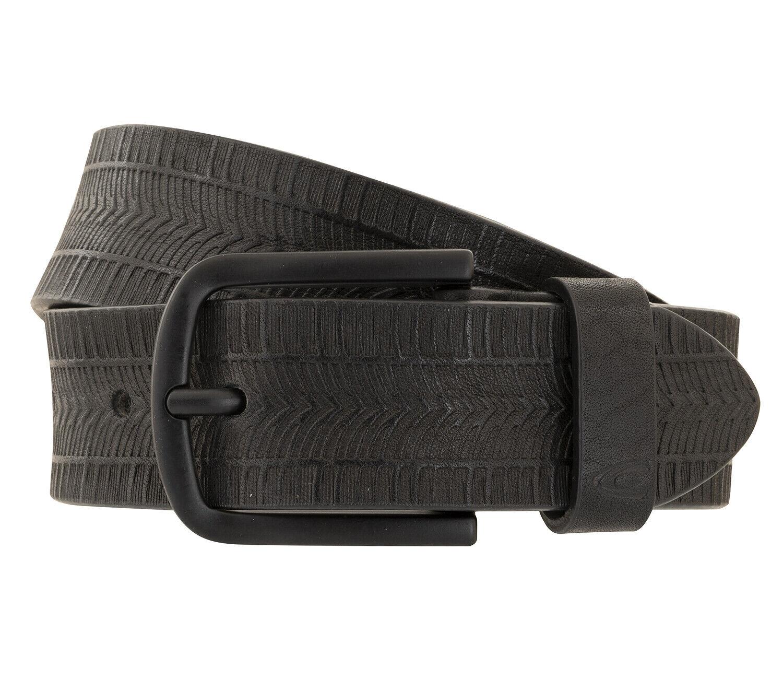 Camel Active Men's Belt Belt Leather Belt Black 1206 2