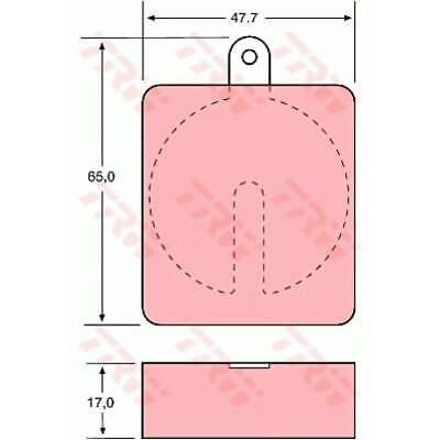 13.0460-5645.2 Bremsbelagsatz Garnitures De Freins Plaquettes De Frein Bremssteine UAT