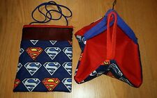 (SUPERMAN EMBLEM!)  Sugar Glider Bonding Pouch & Sleeping  Hammock!!