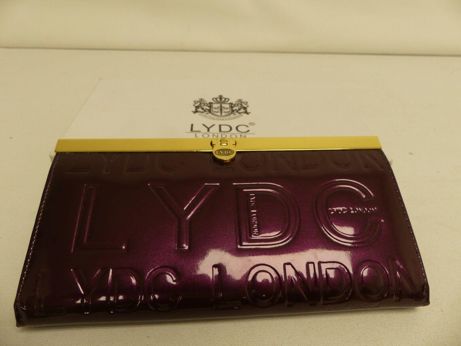 (ref288BP) LYDC Burgundy Purse