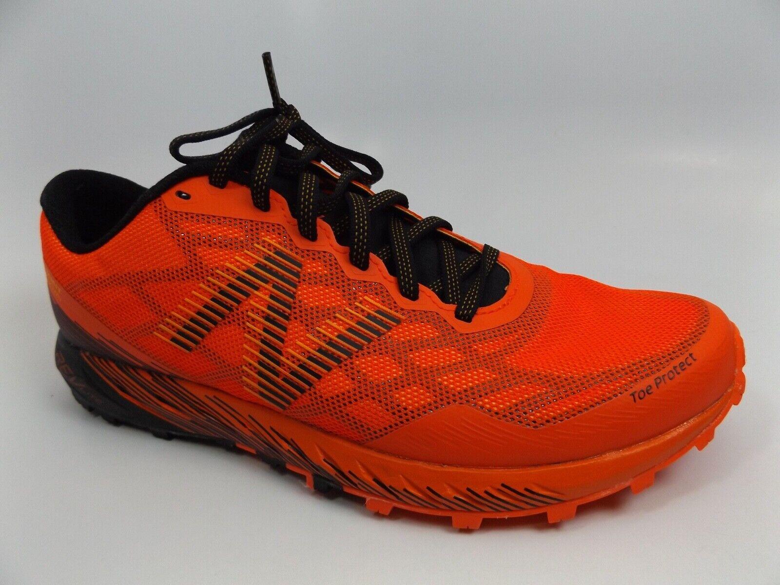 New Balance Para hombre mtunknf Naranja Negro Atlético senderismo zapatos talla 8.0 2E Ancho 11103
