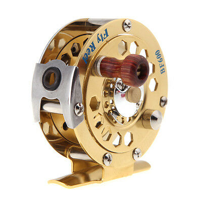 All-Metal Fly Fish Reel Ice Fishing Vessel Wheel BF600A 0.50/100(mm/m) 1:1 New
