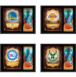 NBA Sublimated 12 x 15 Team Logo Plaque - Fanatics