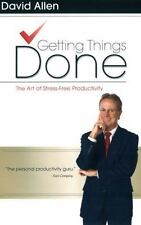 DAVID ALLEN - Getting Things Done: The Art of Stress-Free ** Brand New **