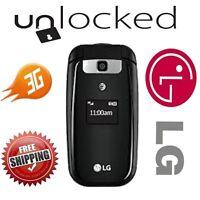 Unlocked Lg B470 Black At&t Cellular Gsm 3g Flip Phone