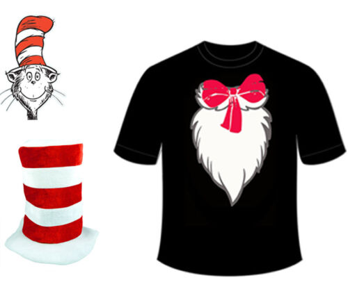 Hat Dr.Seuss Book Week Day Adult the Cat in the Hat Printed Shirt