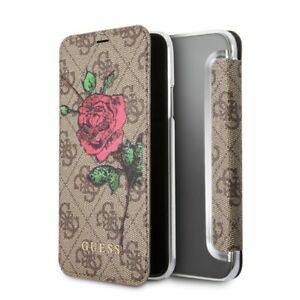15cfd23ca6e Genuine GUESS PU 4G Flower Desire Book Case with Card Slots for ...