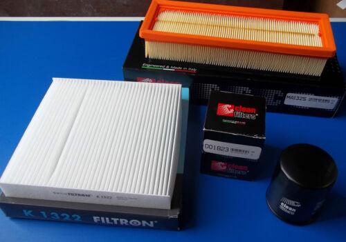 Filterpaket  Fiat 500//Panda 312  1.2 ab Bj 09.2011