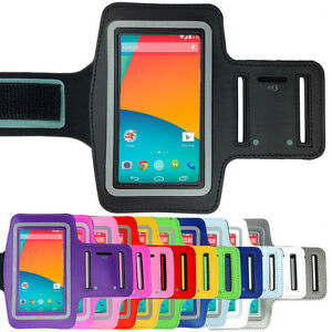 Sports-Gym-Running-Exercise-Armband-Arm-Band-Pouch-Case-for-LG-Google-Nexus-5-4