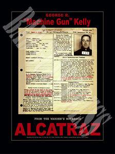 Machine-Gun-Kelly-Gangster-Mug-Shot-Rap-Sheet-Poster-Alcatraz-1934-Exclusive