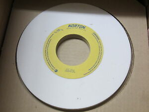 "new NORTON 10/"" x 1//4/"" x 3/"" Alundum 38A60-K5VBE Abrasive Grinding Wheel 07897"