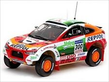 MITSUBISHI RACING LANCER 2009 DAKAR RALLY 1/43 MODEL CAR BY VITESSE 43431